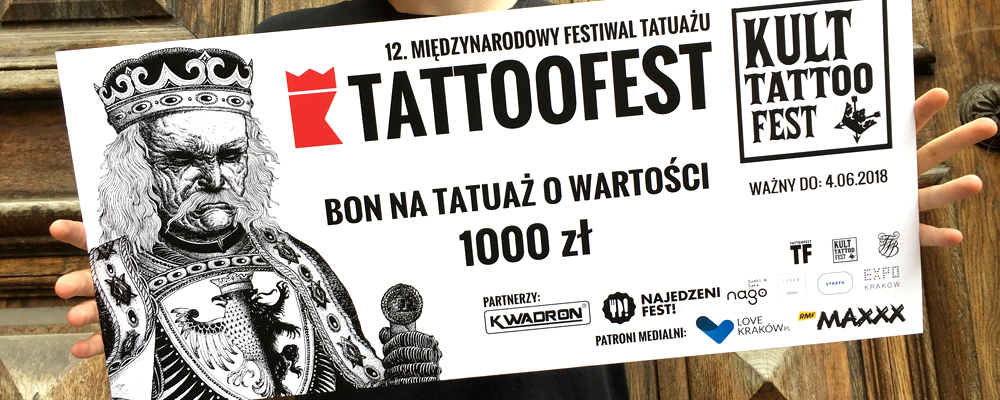 Lottery Win A Tattoo Voucher Worth 21000 Pln